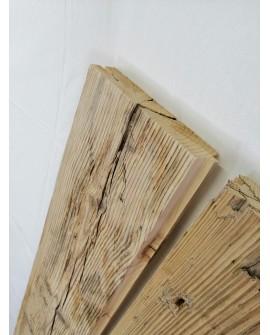 Tavole Legno Vecchio maschiate Spessore 4cm