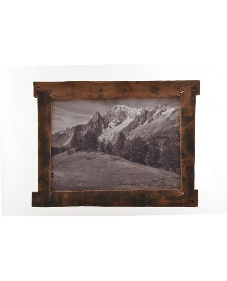 Quadro in Larice Massello Val Ferret 135x102x4