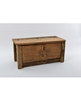Panca/scarpiera legno vecchio 103x54x56